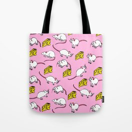 Mouse & Cheese Tote Bag