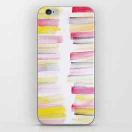 10   | 181101 Watercolour Palette Abstract Art | Lines | Stripes | iPhone Skin