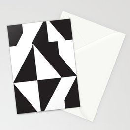 losanges noirs 7 Stationery Cards