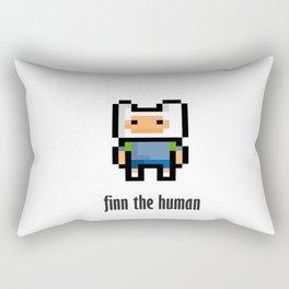 Finn the human Rectangular Pillow
