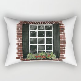 Old Town Window Rectangular Pillow