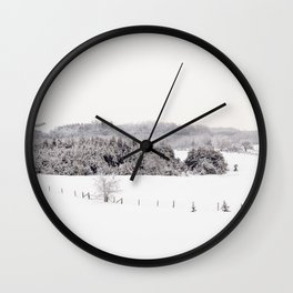 Watched You Disappear Wall Clock