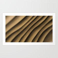 Clay Waves Art Print