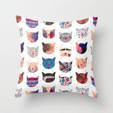 C.C. iii Throw Pillow