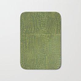 Alligator Skin Bath Mat