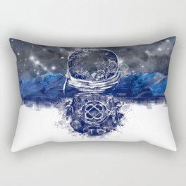 galaxy landscape Rectangular Pillow