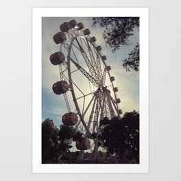 Barcelona Eye Art Print