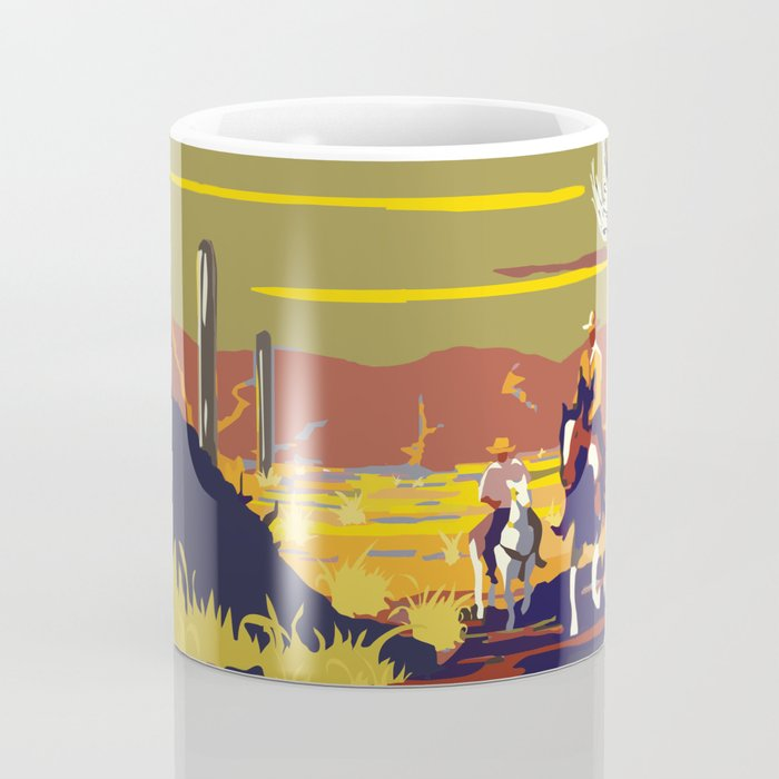National Parks 2050: Sagauro Coffee Mug