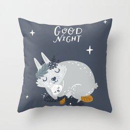 Good night Throw Pillow