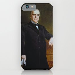 William McKinley Painting - By August Benziger iPhone Case