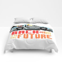 Back to the future: Delorean Comforters