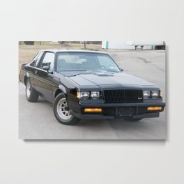 Grand National Regal T-type WE4 Turbo T in Black Metal Print