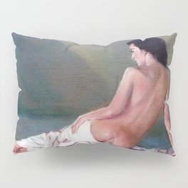 Desnudo (Apunte)/Nu (Esbozo)/Nude (Sketch) Pillow Sham
