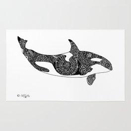 Flying  Orca Rug