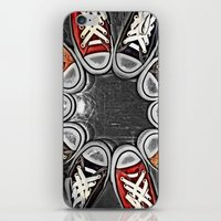 chuck iPhone & iPod Skins featuring Chuck Yeah!  by MistyAnn @ What the F-stop Prints