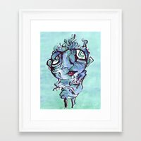 chill Framed Art Prints featuring Chill by 5wingerone