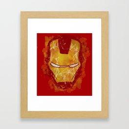 The Iron Mask Framed Art Print