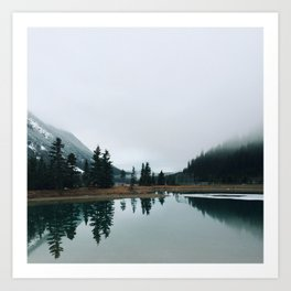Wilderness Reflections  Art Print