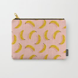 Banana Pattern – Blush Carry-All Pouch