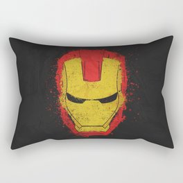 Iron Man splash Rectangular Pillow