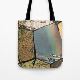 Hole In The Rainbow Tote Bag