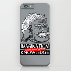 Imagination is more important than knowledge iPhone 6s Slim Case