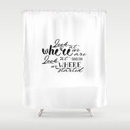 Look | Hamilton Shower Curtain
