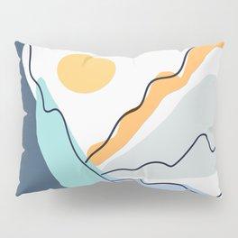 Minimalistic Landscape II Pillow Sham