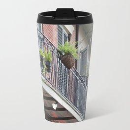 New Orleans Pirates Alley Streetlamp Travel Mug