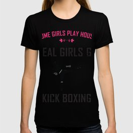 Kickboxing girl MMA martial arts fighter T-shirt