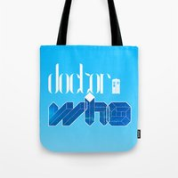 doctor Tote Bags featuring Doctor! by alboradas