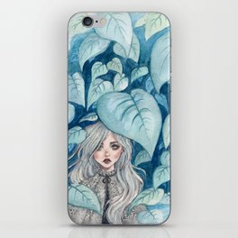 Silver Forest iPhone Skin