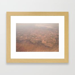 Arizona Landmap Photography Framed Art Print