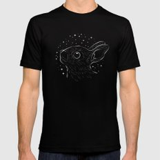 Star Gazer MEDIUM Mens Fitted Tee Black