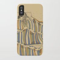 artists iPhone & iPod Cases featuring Ocean of love by Huebucket