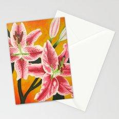 Stargazer Lilies Stationery Cards