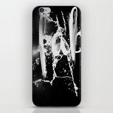 Faber iPhone & iPod Skin