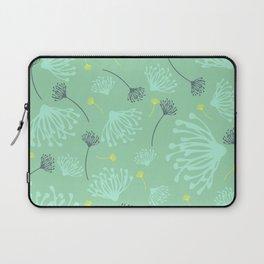 Dandelion Silhouette Laptop Sleeve