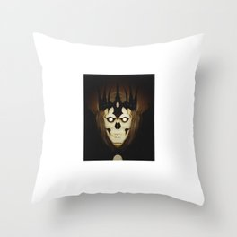 Crowned Skull Throw Pillow