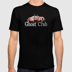 G is for Ghost Crab MEDIUM Mens Fitted Tee Black
