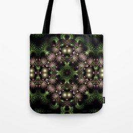 Fractal Wreath Tote Bag