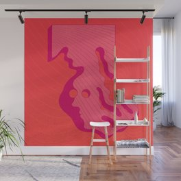 Cool but still a square Wall Mural