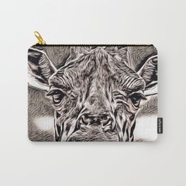 Rustic Style - Giraffe Carry-All Pouch