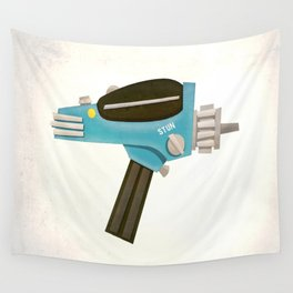 Set phasers to stun! Wall Tapestry