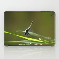 dragonfly iPad Cases featuring Dragonfly by Christina Rollo