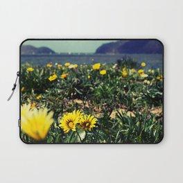 Seaside flowers Laptop Sleeve