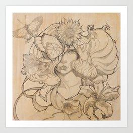 Talie Art Print