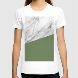 Marble and Kale Color T-shirt
