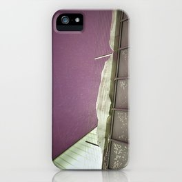 Untitled (Purple Sky) iPhone Case