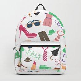 Modern Clothe Pattern Art Prints Backpack